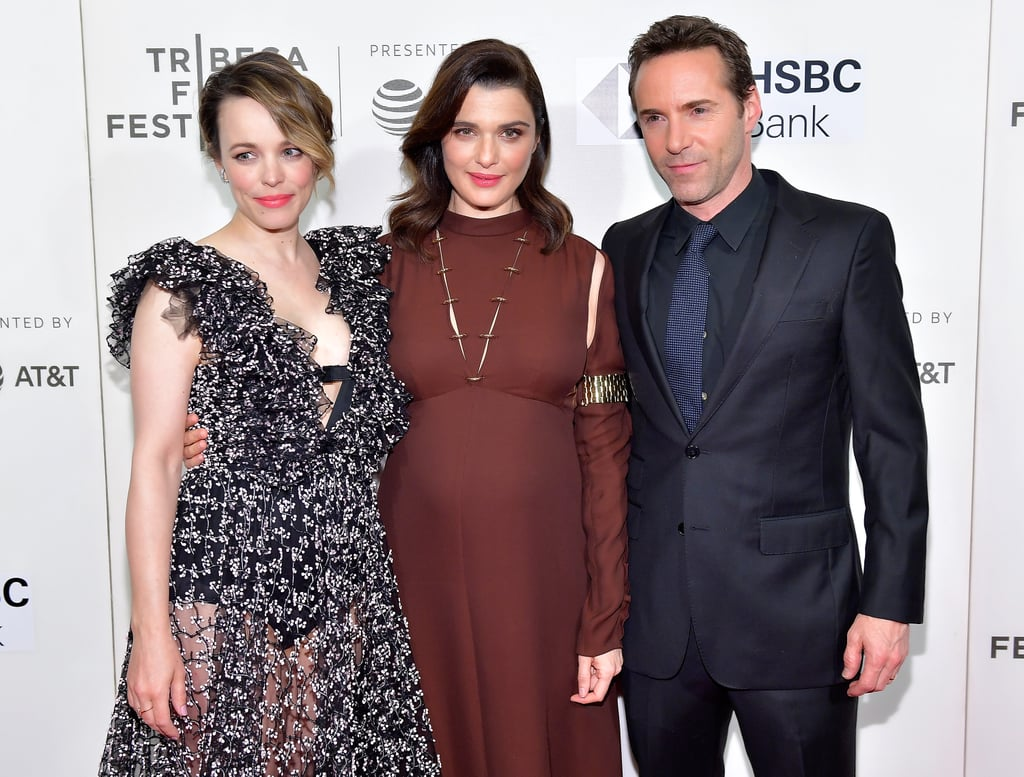 With Rachel McAdams and Alessandro Nivola.