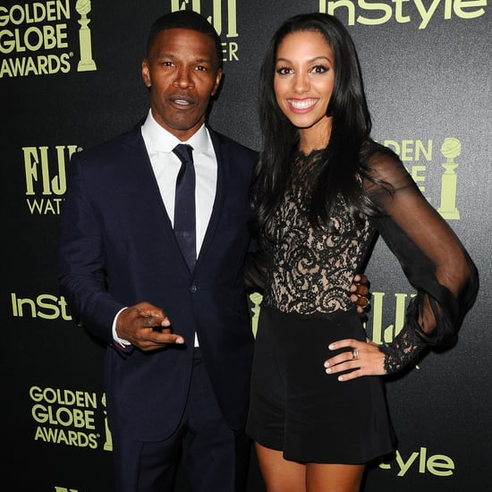 Jamie and Corinne Foxx at InStyle Golden Globes Event