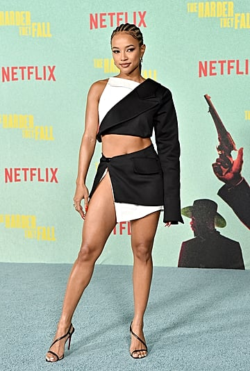 Karrueche Wore a Lionne Set to The Harder They Fall Premiere