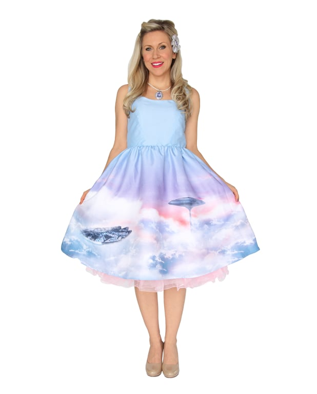 Cloud City Pin-Up Dress ($150)