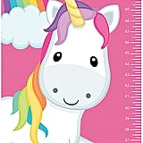 Spark and Spark Rainbow Unicorn Personalized Growth Chart Decal