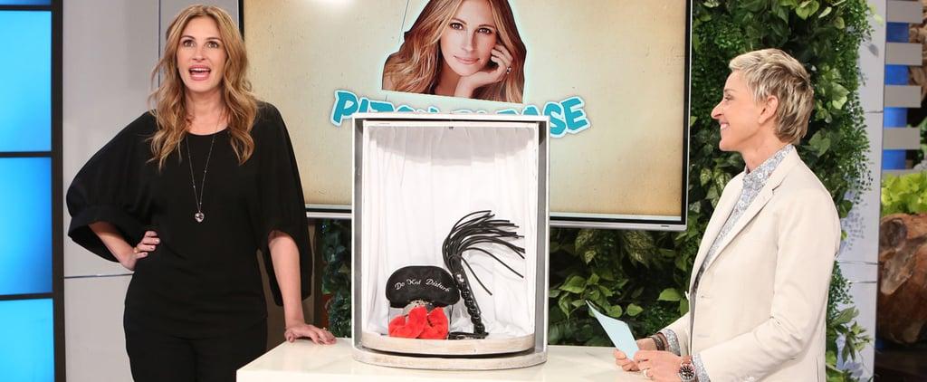 Julia Roberts Sells Sex Toys on Ellen DeGeneres