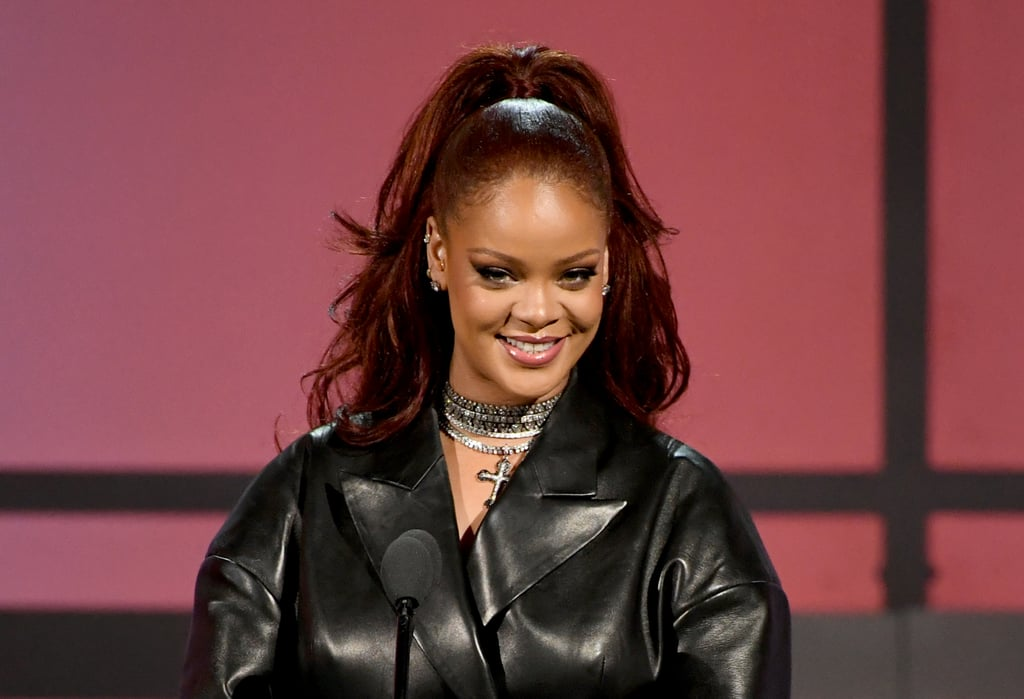 Rihanna With Spicy Ginger Hair