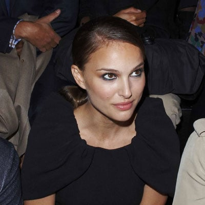 Natalie Portman at Giambattista Valli in Paris