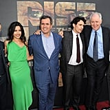 Tom Felton, Freida Pinto, and James Franco posed with the movie's cast and crew.