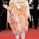 Beth Ditto delivered her signature eclecticism at the red carpet festivities.