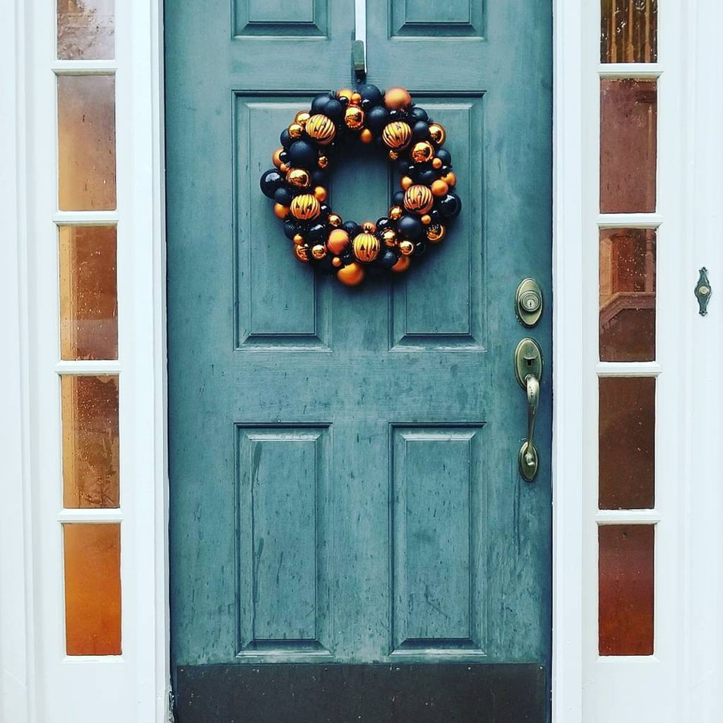 Why Wait Until Christmas When You Can Hang a Wreath For Halloween?