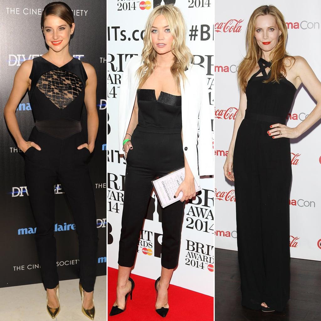 The Best Black Jumpsuits For Evening | POPSUGAR Fashion UK