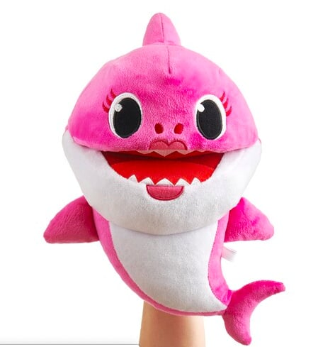 Baby Shark Daddy Shark Song Puppet with Tempo Control