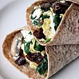 Spinach and Egg Wrap