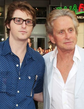 Photos of Cameron Douglas and Father Michael Douglas, Cameron Sentenced to Five Years in Prison for Drug Possession