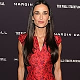 Demi Moore at the Margin Call premiere in NYC.