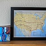 Stitching specific road-trip routes