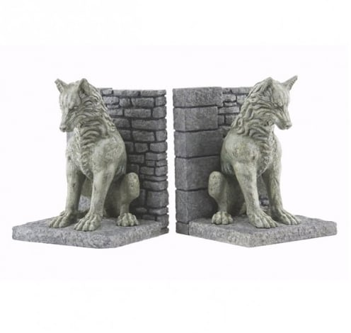 Direwolf Bookends ($80)