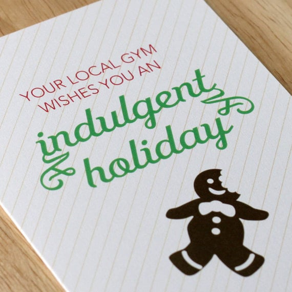 Does your gym give you a free pass when it comes to holiday eating? Now they do!