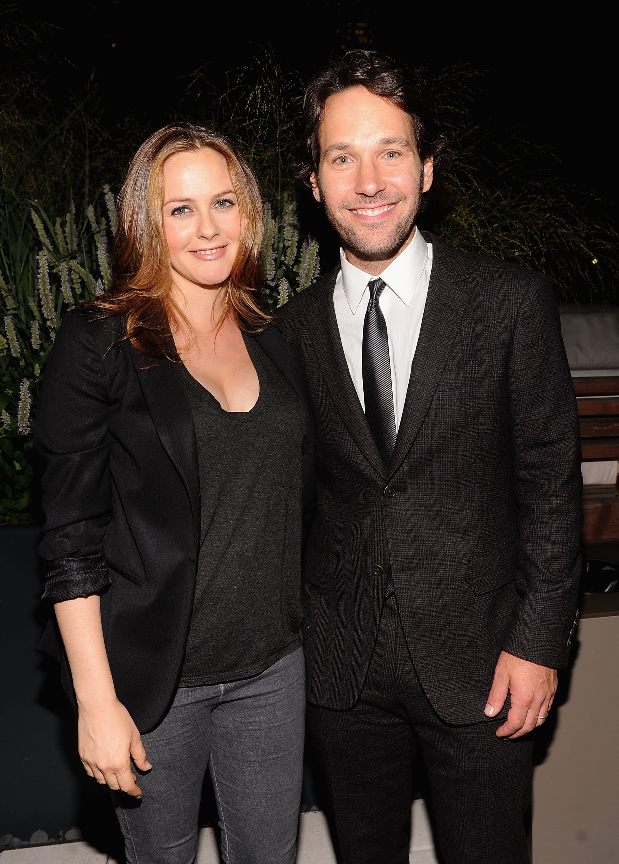 Alicia Silverstone and Paul Rudd