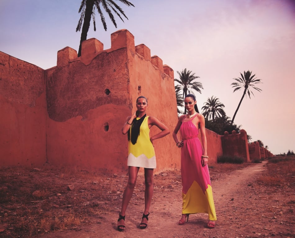 Take a Moroccan Sojourn with Kookai, and Nicole Trunfio