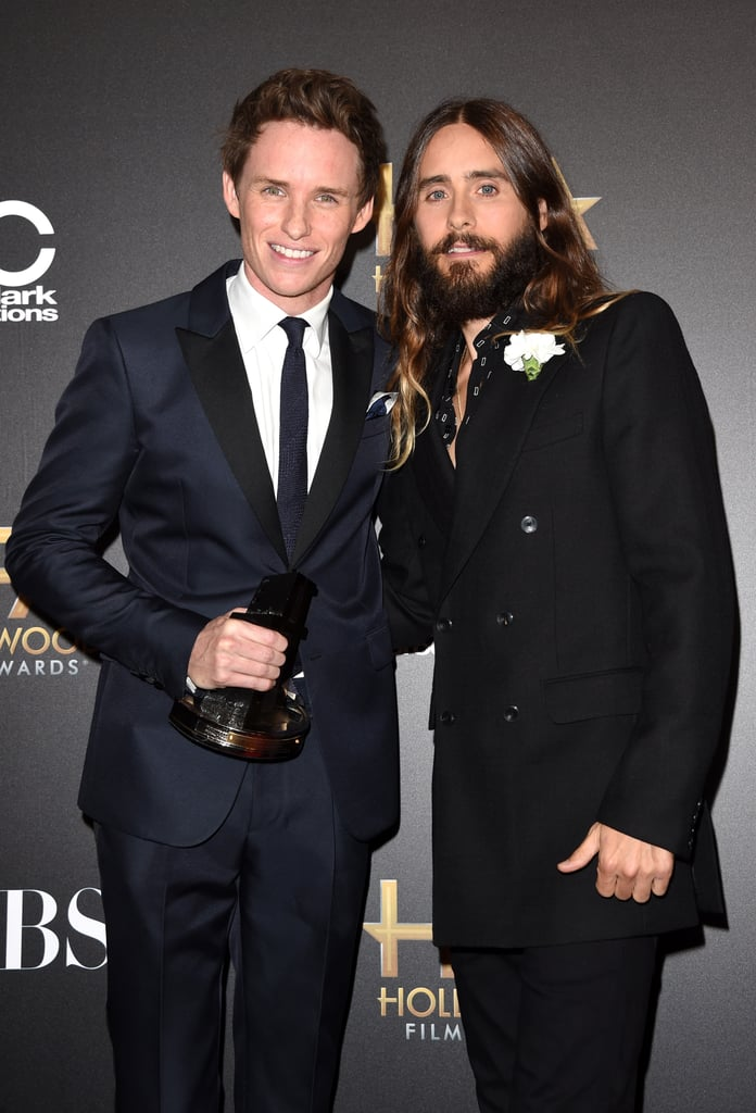 Eddie Redmayne and Jared Leto