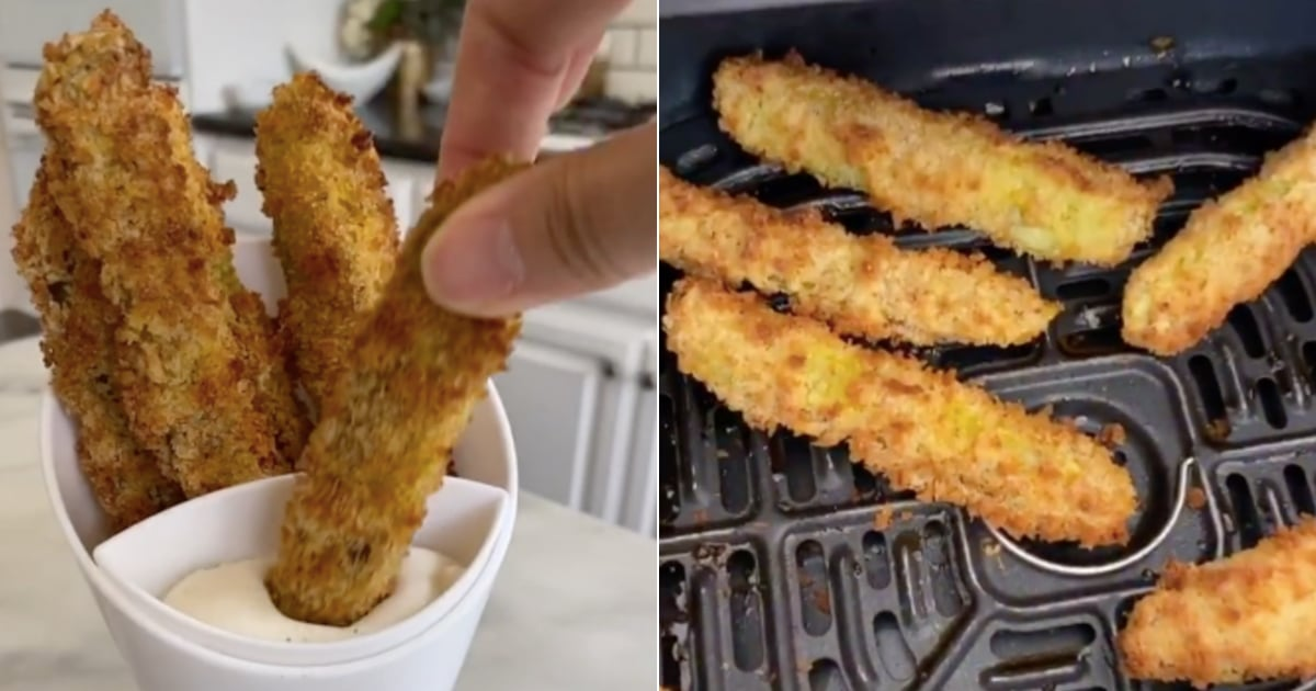 We Found a Recipe on TikTok That Makes Air-Fried Pickles Easy