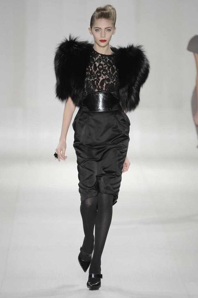 Paris Fashion Week: Elie Saab Fall 2009