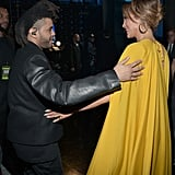 Jennifer Lopez Embracing The Weeknd