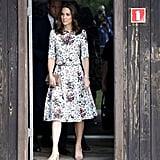 The Duchess Debuted an Erdem Floral Set