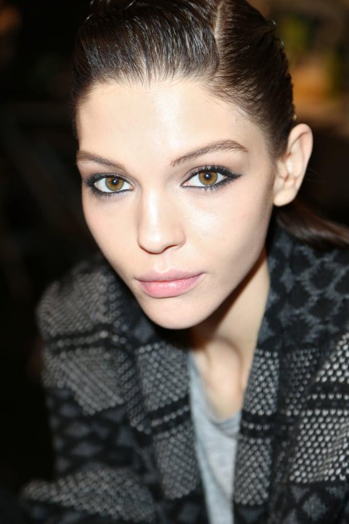 Best Beauty At New York Fashion Week Reem Acra Fall 2014