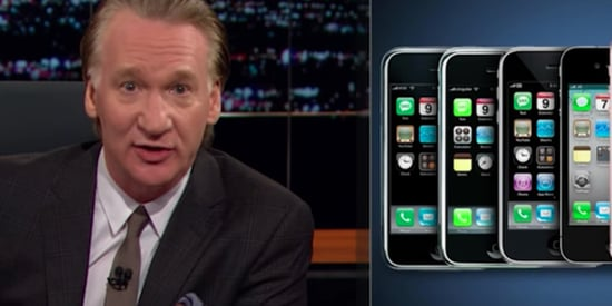 Bill Maher Rips Apple For Releasing New iPhones Every Year