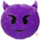 Devil emoji pillow ($5)