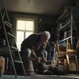 Emotional Holiday Ad With Grandpa Lifting Weights | Video