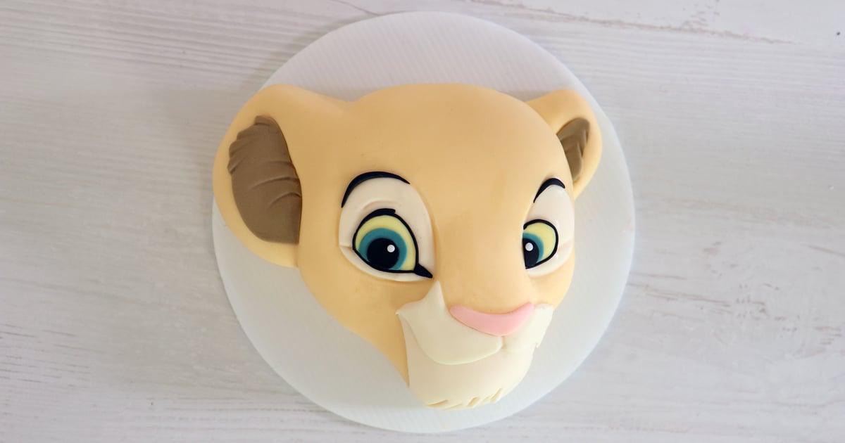How To Make A Lion King Simba Cake Video Popsugar Food