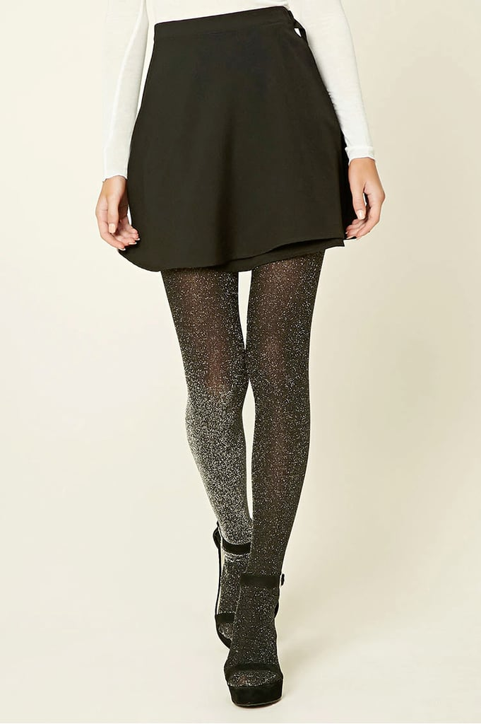 Forever 21 Semi-Sheer Shimmery Tights ($7)