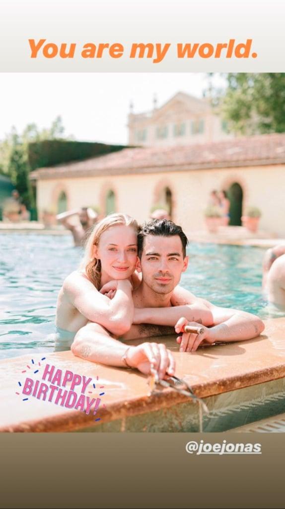Joe Jonas's 30th Birthday Messages From Family
