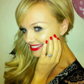 Pictures of Emma Bunton's Engagement Ring, Emma Bunton Getting Married to Jade Jones