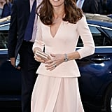 Kate Middleton in Similar Alexander McQueen Dress in May 2016