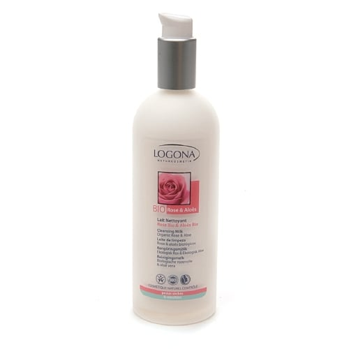 Logona Cleansing Milk With Organic Rose and Aloe