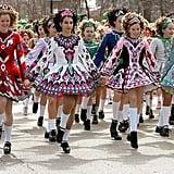 And Irish dancers.
