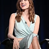 Allison Williams practically glowed on stage.