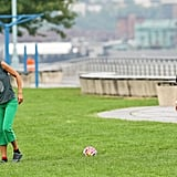 Pictures of Someone Playing Soccer