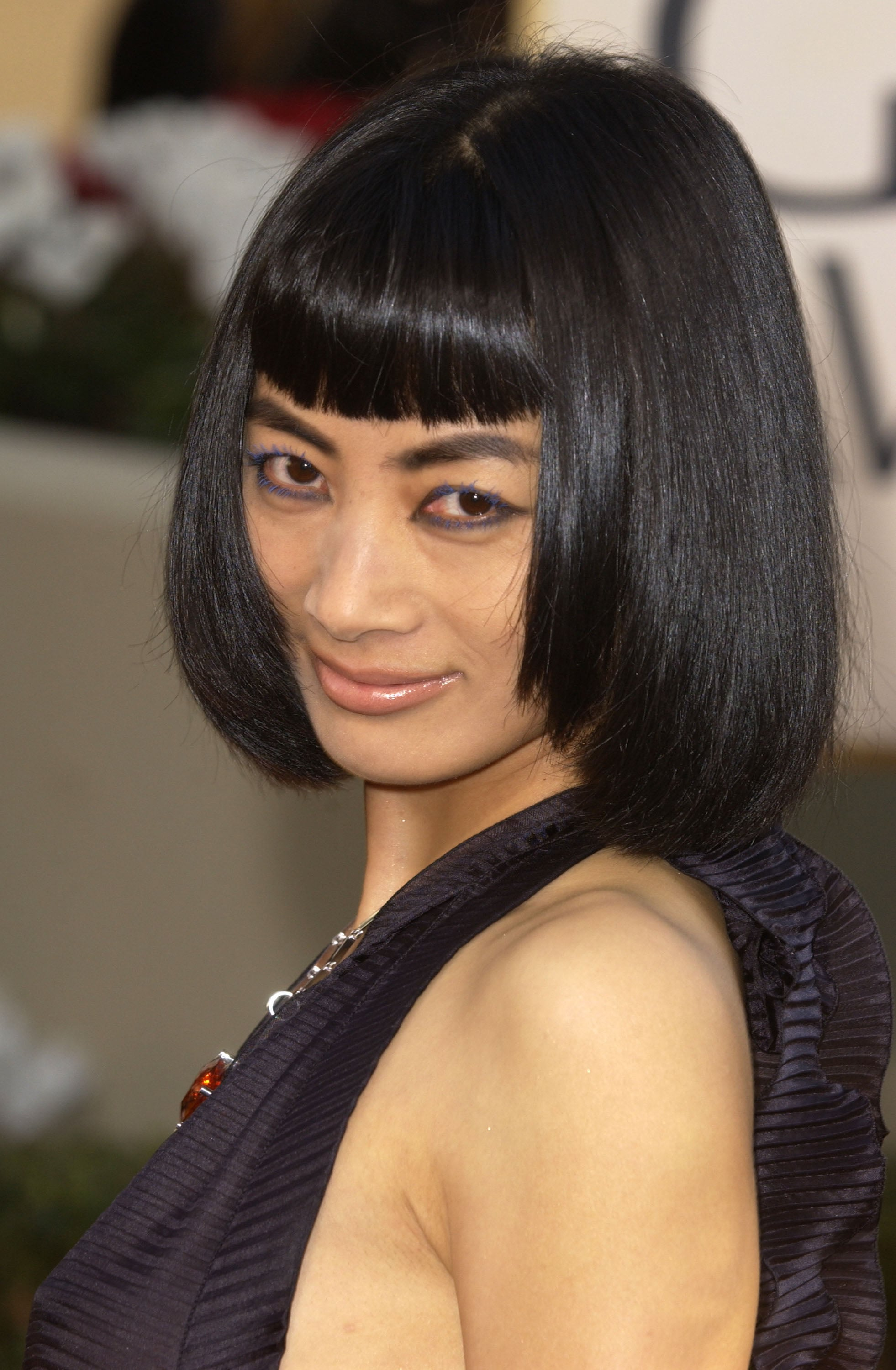 Bai Ling 2002 46 Golden Globes Hair And Makeup Looks