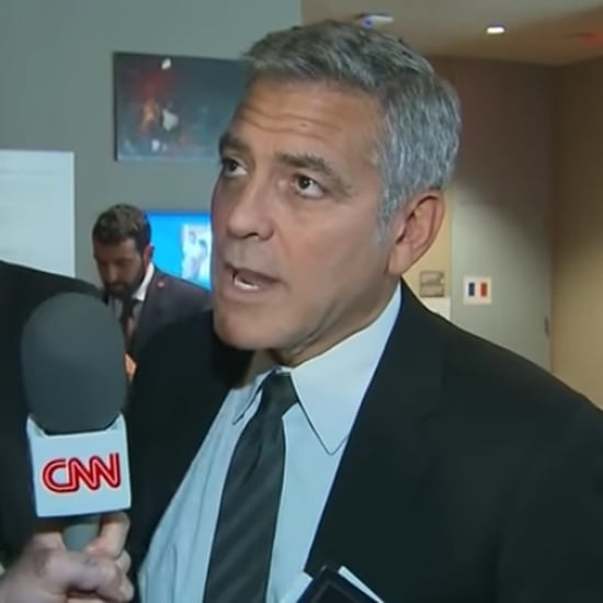 George Clooney Reacts to Brad Pitt's Divorce 2016
