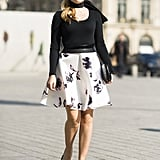 A modern-day riff on poodle skirts. Source: Le 21ème | Adam Katz Sinding