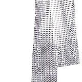 Amazon Iiniim Metal Sequins Neck Tie Scarf