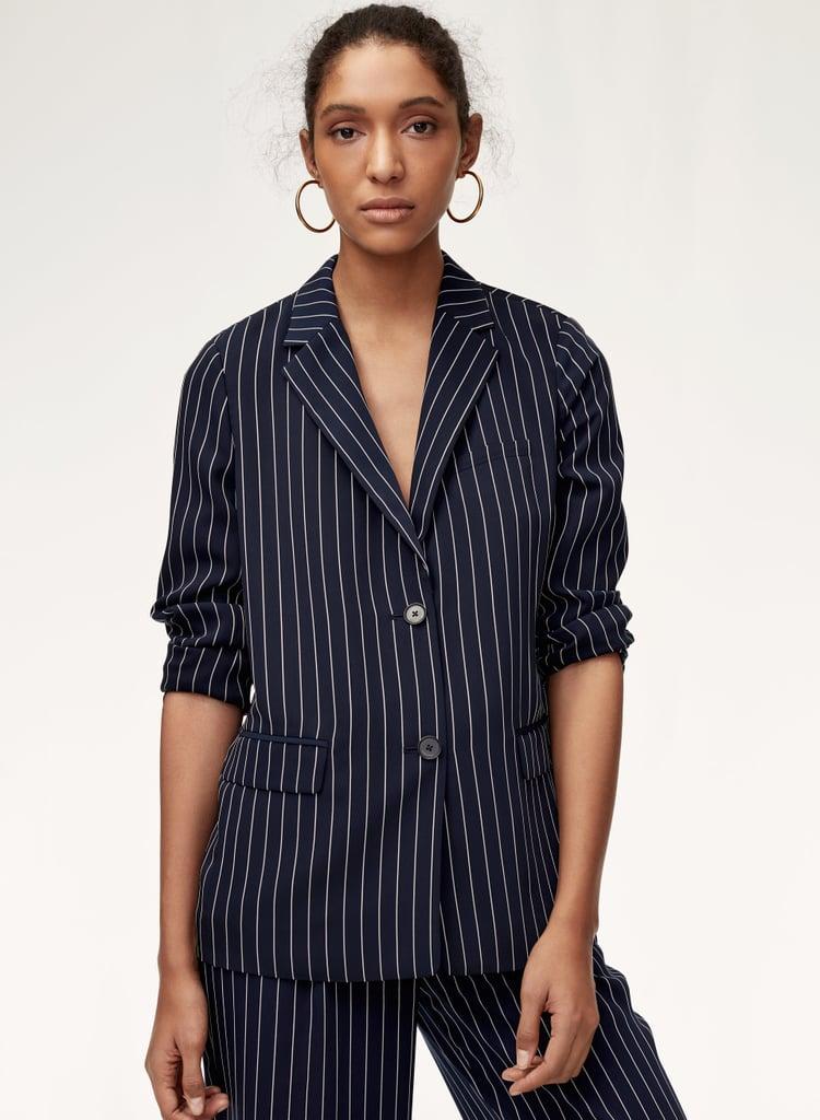 f8983652c Babaton Demy Blazer | Best Aritzia Spring Clothes 2018 | POPSUGAR ...