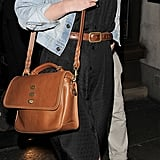 Keira Knightley with the Bryn in Oak Natural Leather.