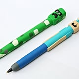 Steve and Creeper Novelty Pens