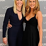 Jennifer Aniston and Chelsea Handler palled around at the 2011 Glamour Women of the Year Awards.