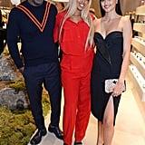 Idris Elba, Sabrina Dhowre, and Neelam Gill