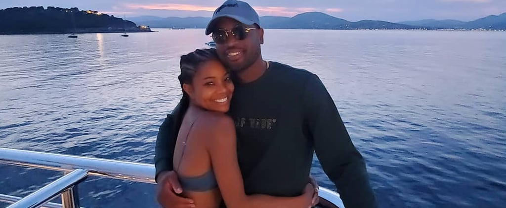Gabrielle Union and Dwyane Wade France Holiday Photos 2019