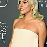 Lady Gaga Beauty at the 2019 Critics Choice Awards